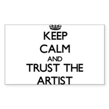Keep Calm and Trust the Artist Decal