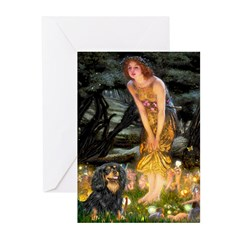 Fairies & Cavalier (BT) Greeting Cards (Pk of 10)