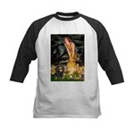 Fairies & Cavalier (BT) Kids Baseball Jersey