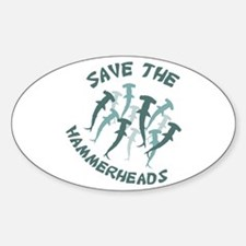 SAVE THE HAMMERHEADS Decal