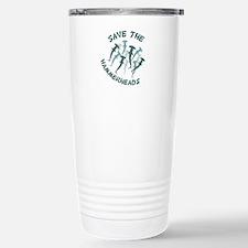 SAVE THE HAMMERHEADS Travel Mug