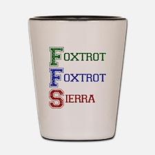 FOXTROT FOXTROT SIERRA Shot Glass
