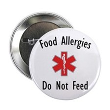 Food Allergies Button