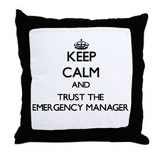 Keep Calm and Trust the Emergency Manager Throw Pi
