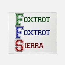 FOXTROT FOXTROT SIERRA Throw Blanket