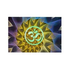 Divinity with a aura of Passion Rectangle Magnet