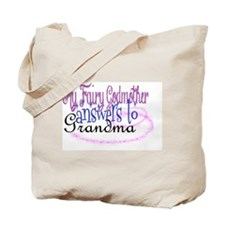 fairy grandma Tote Bag