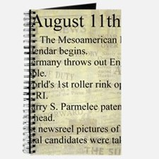 August 11th Journal
