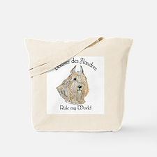 Bouvier des Flandres Wheaten Tote Bag