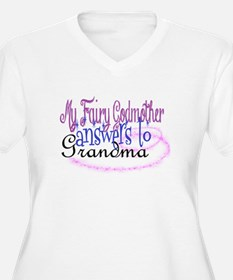 fairy godmother grandma Plus Size T-Shirt