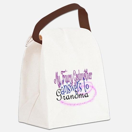 fairy godmother grandma Canvas Lunch Bag