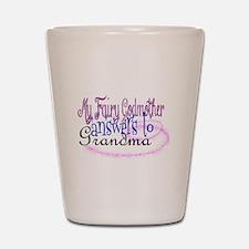 fairy godmother grandma Shot Glass