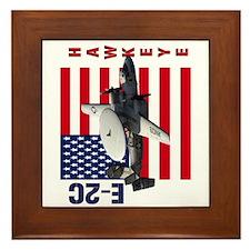 E-2C Hawkeye Framed Tile