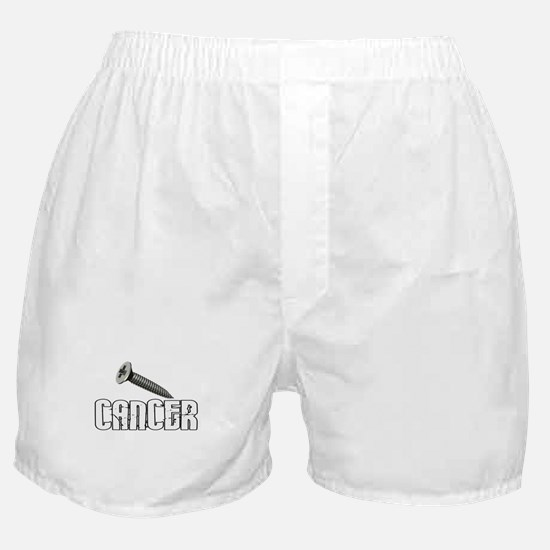 Screw Carcinoid Cancer 1C Boxer Shorts