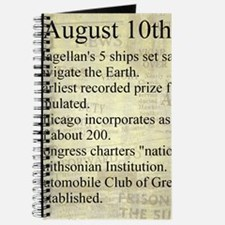 August 10th Journal
