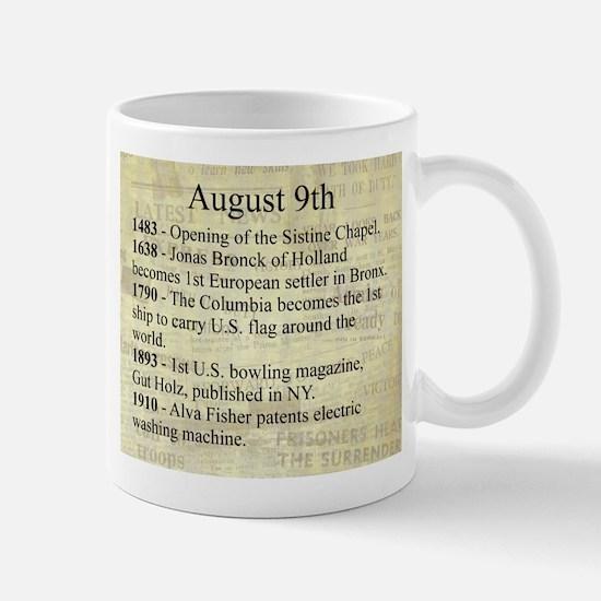 August 9th Mugs