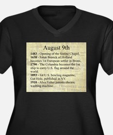 August 9th Plus Size T-Shirt