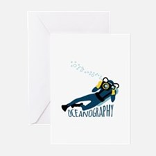 OCEANOGRAPHY Greeting Cards