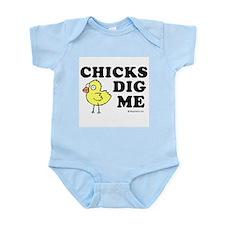 Chicks dig me -  Infant Bodysuit