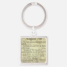August 7th Keychains