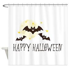 HAPPY HALLOWEEN Shower Curtain