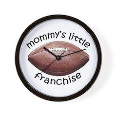 Football - Mom's Franchise Wall Clock