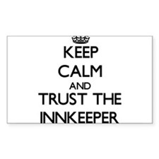 Keep Calm and Trust the Innkeeper Decal