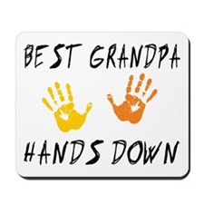Best Grandpa Hands Down Mousepad
