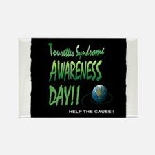 Tourettes Syndrome Awareness Day Magnets