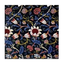 William Morris Evenlode Tile Coaster
