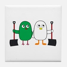 We Are A Team! Tile Coaster