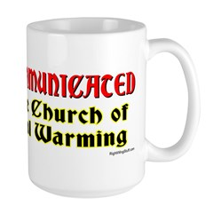 Church of Global Warming Mug