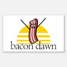 Bacon Dawn Decal