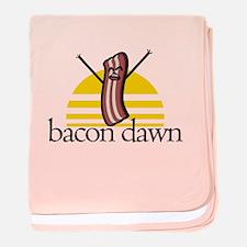 Bacon Dawn baby blanket