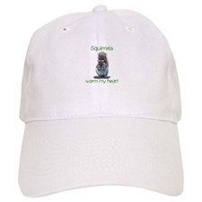 Squirrels Warm Hearts Baseball Cap