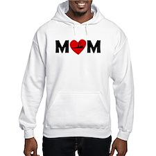 Yoga Heart Mom Hoodie