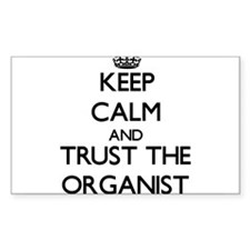 Keep Calm and Trust the Organist Decal