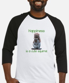 Squirrel Happiness Baseball Jersey