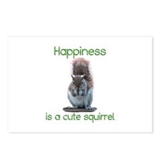 Squirrel Happiness Postcards (Package of 8)