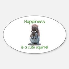 Squirrel Happiness Decal