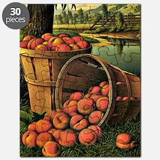 Basket of Peaches - Levi Wells Prentice Puzzle