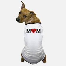 Dancing Heart Mom Dog T-Shirt