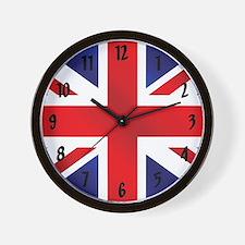 Union Jack Uk Flag Wall Clock