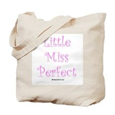 Little Miss Perfect Tote Bag