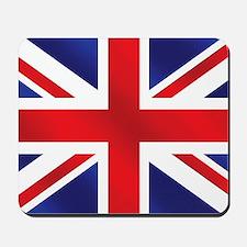 Union Jack Uk Flag Mousepad