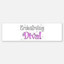 embalming diva pink.PNG Bumper Bumper Bumper Sticker