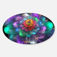 Color in Bloom Sticker (Oval)