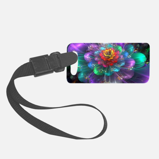 Color in Bloom Luggage Tag