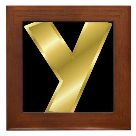 y letter in gold - photo #40