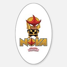 Nova Design 2 Sticker (Oval)